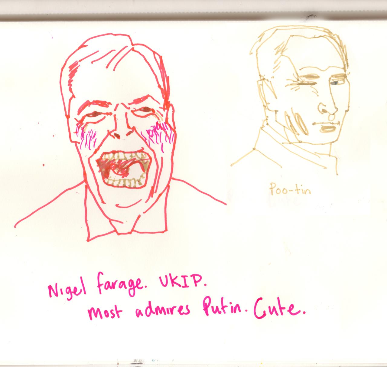 Nigel Farage and Putinsml