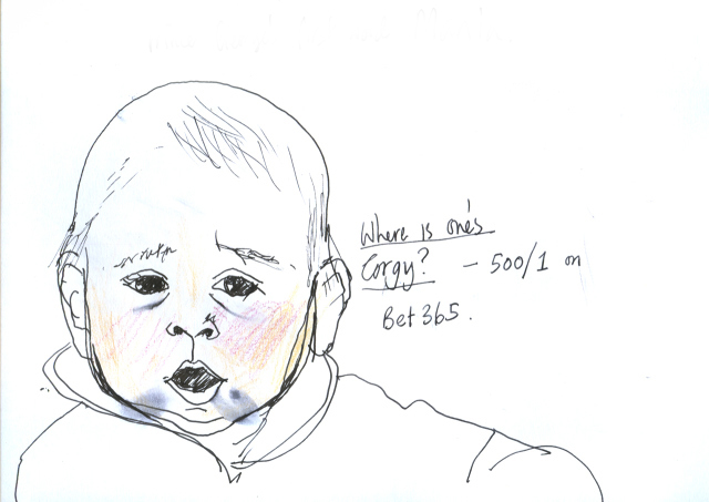 Prince George's First Word