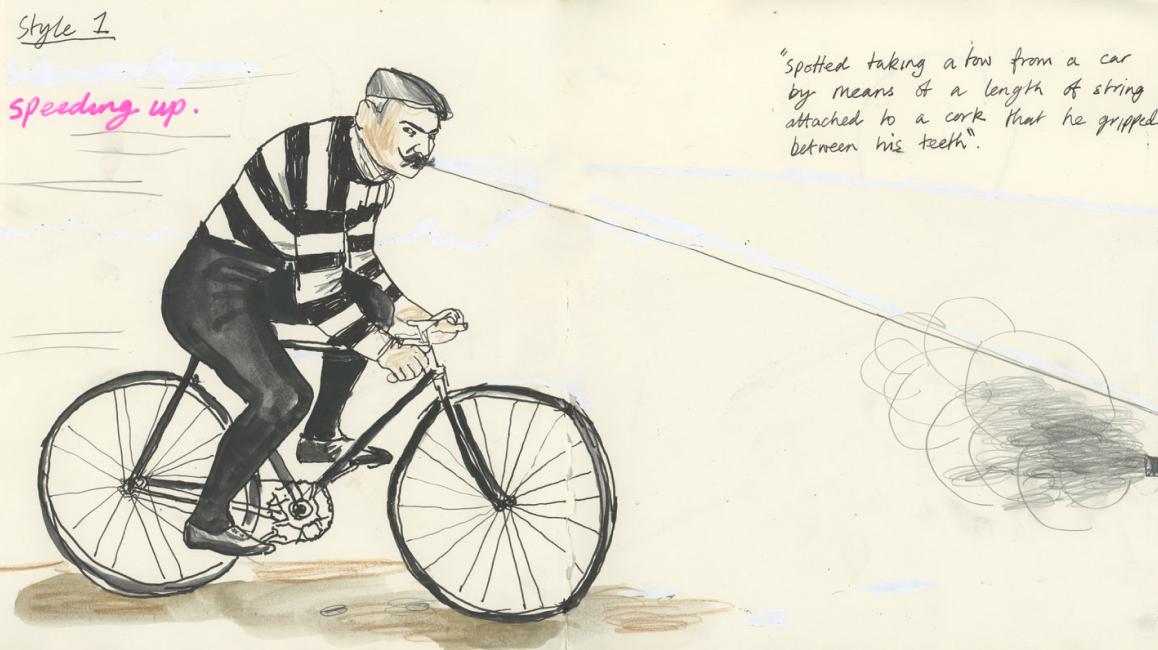 Cheating Cyclist