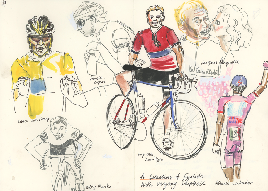 Selection of Cyclists