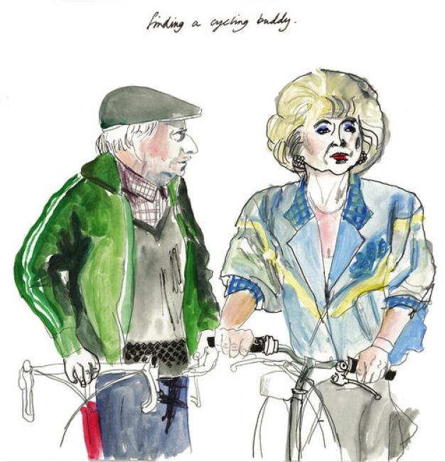 Cycling Buddies