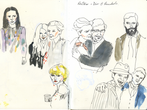 Dior Live Drawing