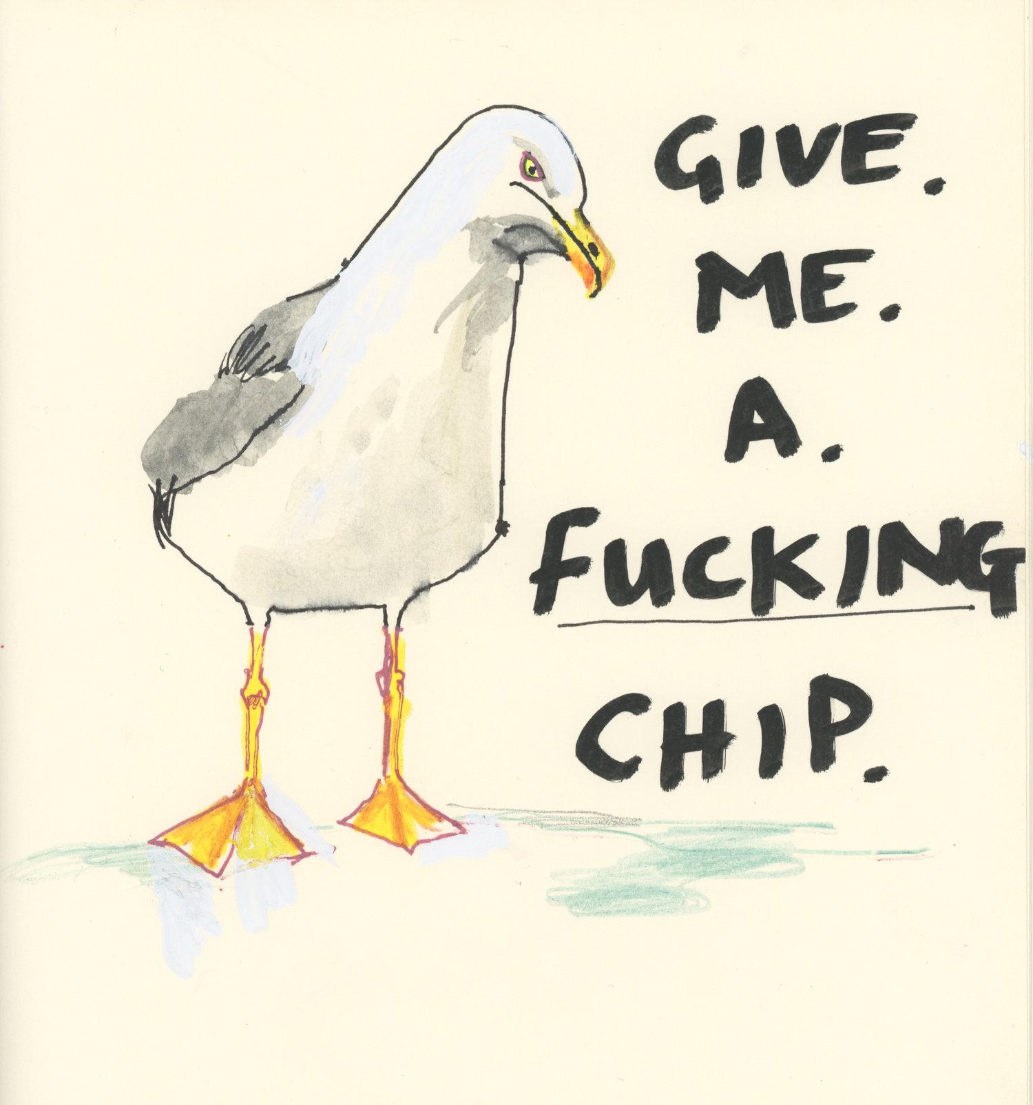 Angry Seagul